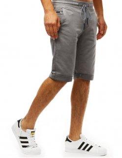 Nohavice pánske teplákové čierne