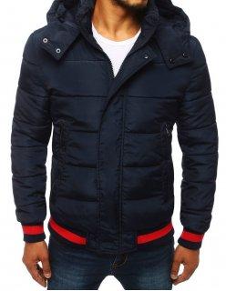 Šedý kockovaný pánsky kabát