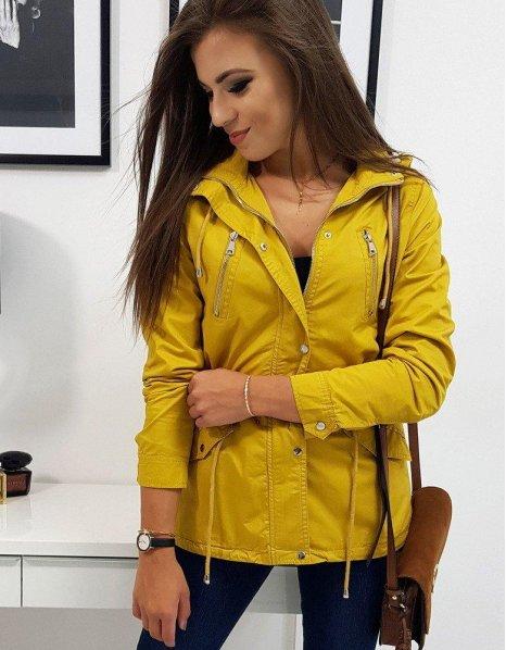 Dámska párka bunda Grado žltá