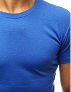Pánske modré tričko s potlačou