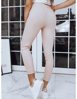 Nohavice pánske joggery hnedé