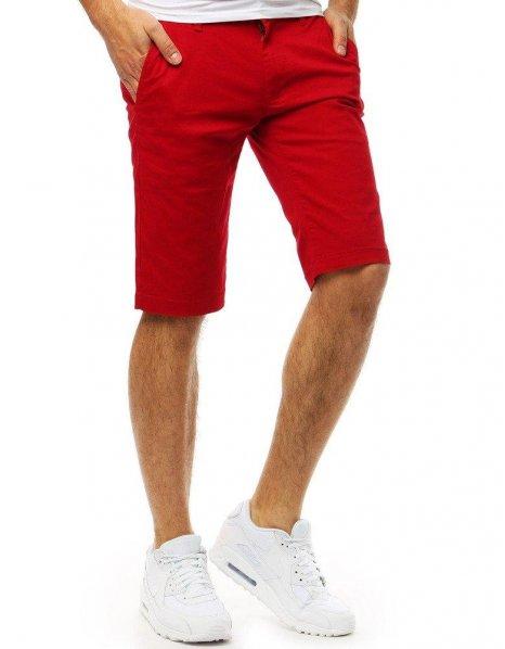Pánske červené kraťasy