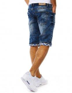 Modré nohavice džínsy