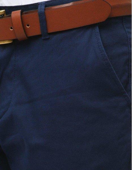 Pánske modré chinos nohavice