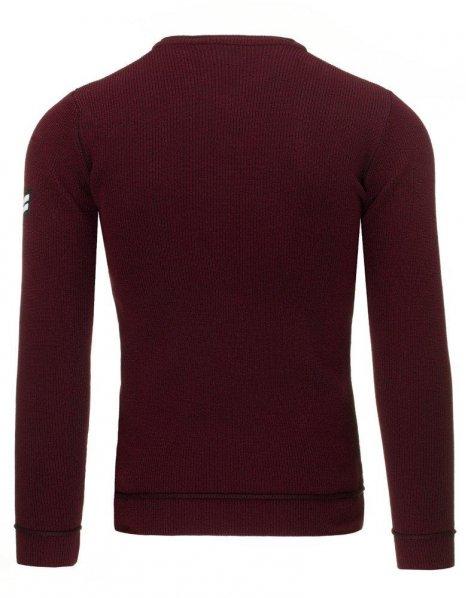 Pánsky bordový sveter