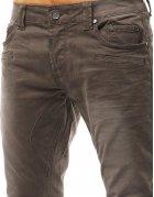 Béžové pánske džínsové nohavice