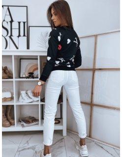 Šortky pánske džínsové biele