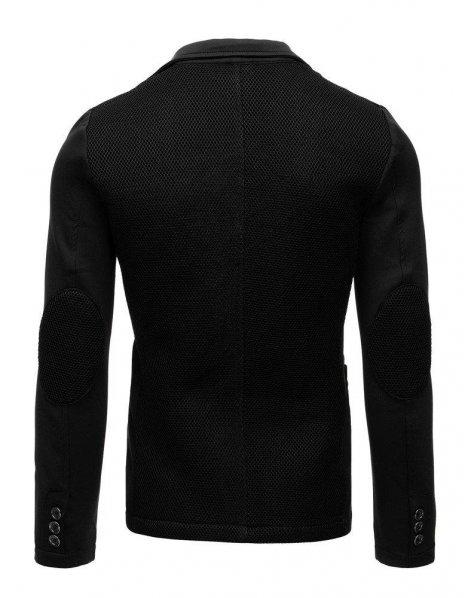 Pánske čierne neformálne sako