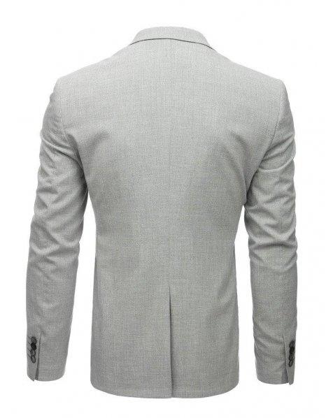Svetlo-šedé pánske sako