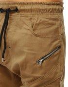 Pánske hnedé jogger nohavice