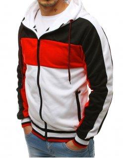 Svetlomodrá kockovaná košeľa s modrým a červeným vzorom