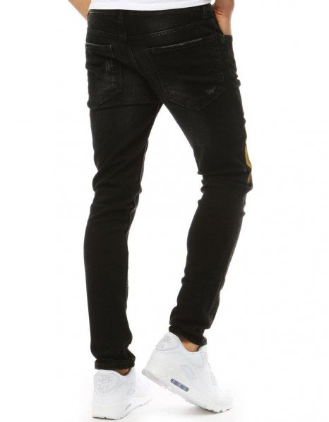 Čierne pánske chinos nohavice