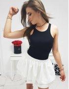 Krémová suknička Basic Premium