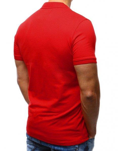 Červená pánska Polo košeľa