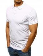 Biela pánska Polo košeľa