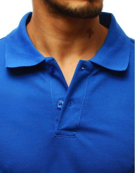 Modrá pánska Polo košeľa