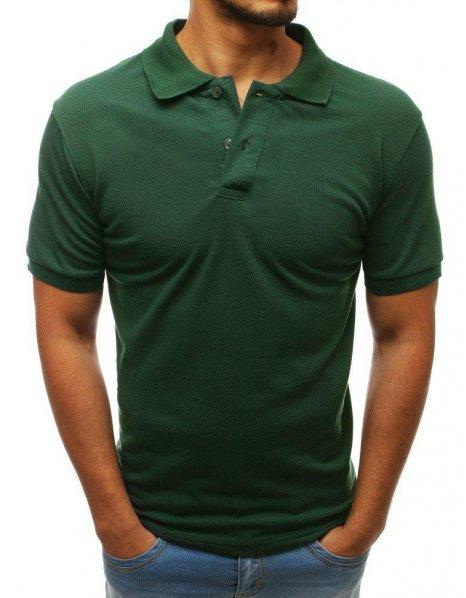 Tmavo zelená pánska Polo košeľa
