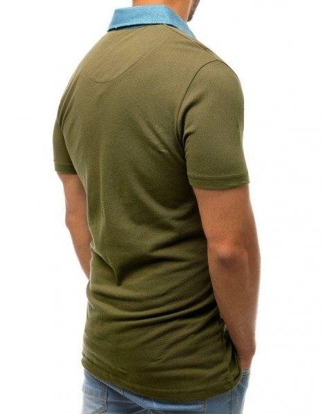 Zelená pánska Polo košeľa