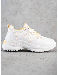 Nízke čierne topánky na zips
