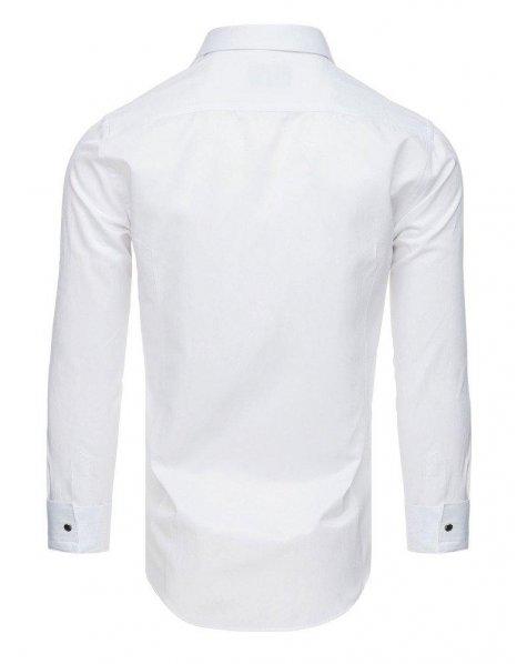 Biela plisovaná smokingová košeľa
