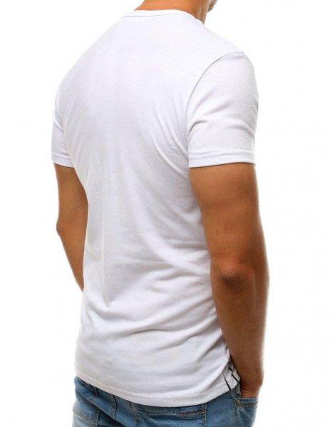 Biele tričko s potlačou