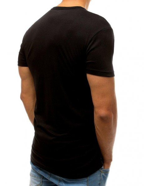 Čierne tričko s potlačou