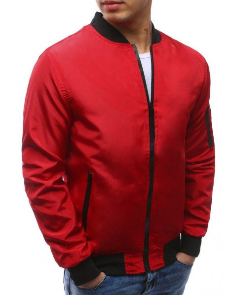Pánska bunda momber jacket červená