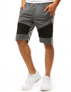 Pánske teplákové nohavice šedá