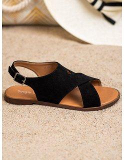 Športové čierne topánky s viazaním