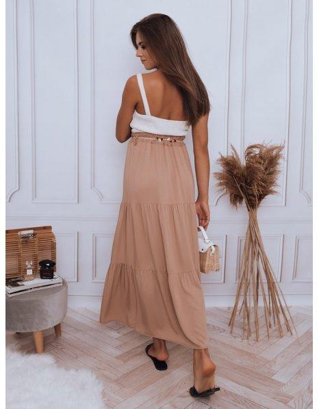 Hnedá sukňa Elicia