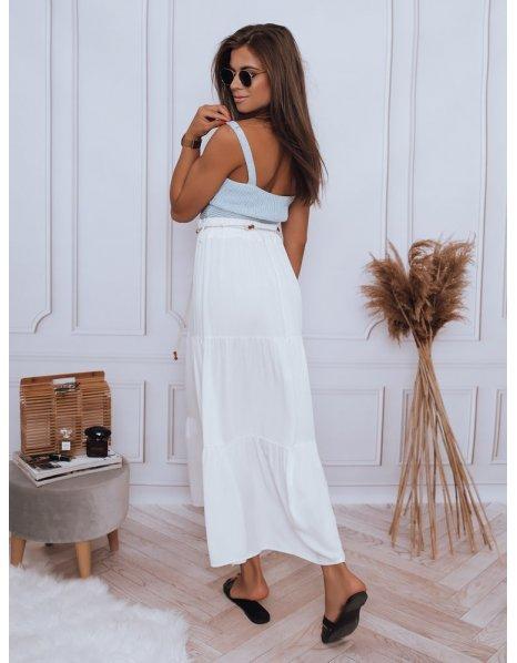 Biela sukňa Elicia