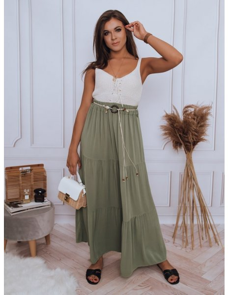 Zelená sukňa Elicia