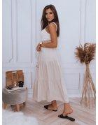 Béžová sukňa Elicia
