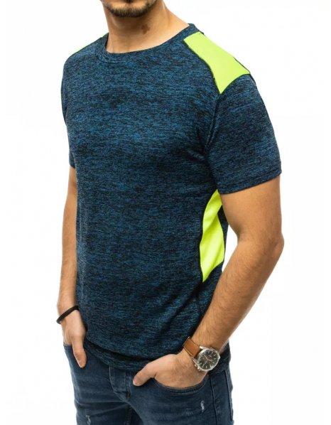 Tmavomodré pánske tričko