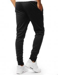 Čierne džínsové pánske nohavice