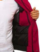Bordová pánska zimná bunda