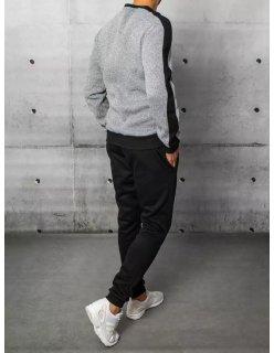 Semišové šedé tenisky Fashion