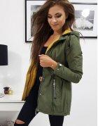 Zelená dámska bunda OLALA