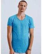 Tyrkysové pánske tričko