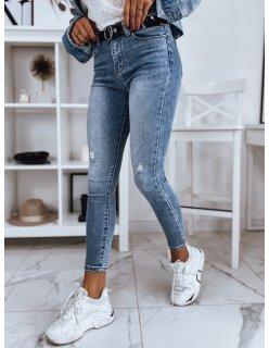 Nohavice joggery pánske džínsové tmavomodré