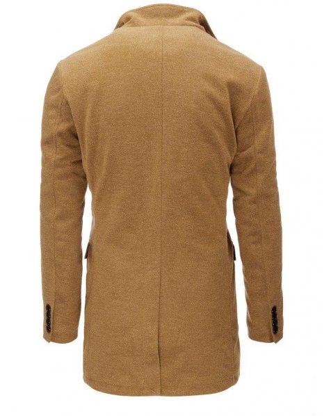 Hnedý pánsky kabát