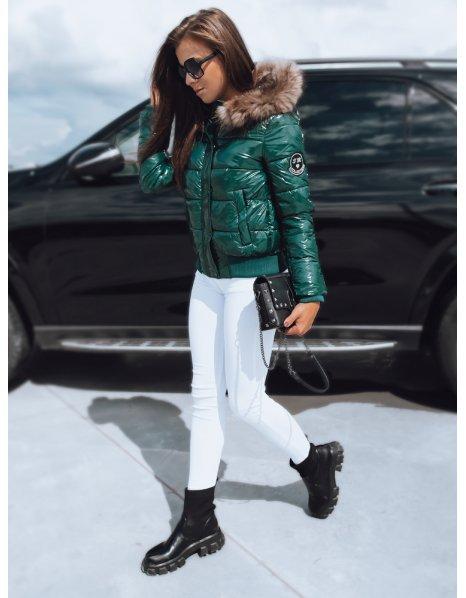 Čierna hrubá zimná pánska bunda