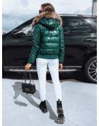 Tmavomodrá hrubá zimná pánska bunda