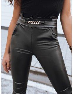 Čierna pánska zimná bunda s vreckami na prsiach
