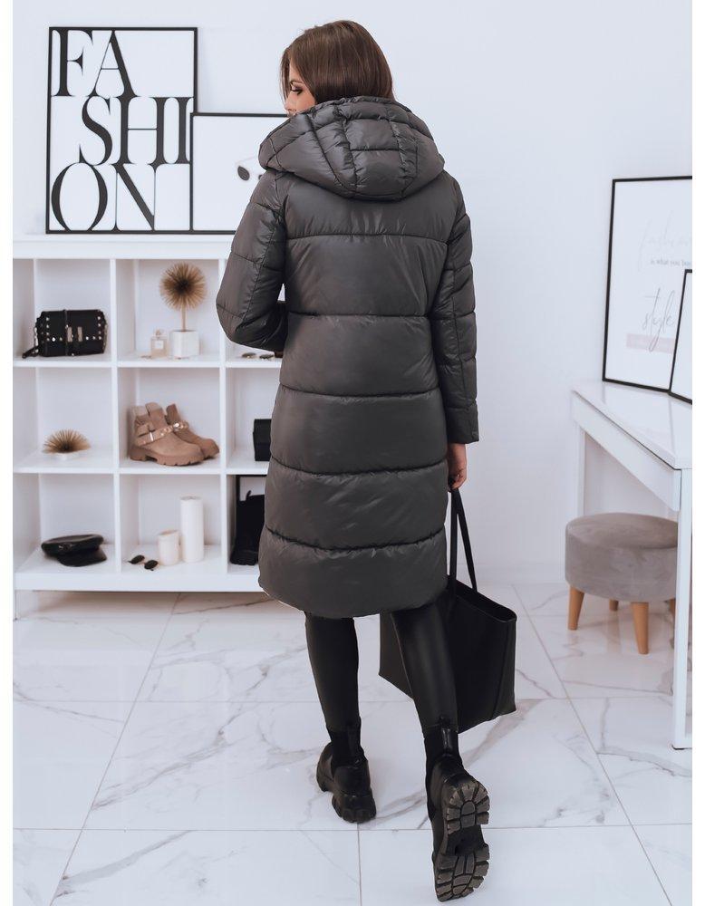 Šedý dámsky kabát Layla od NaSeba.sk 457d184896d