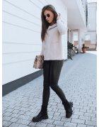 Čierno-biele šaty Ella