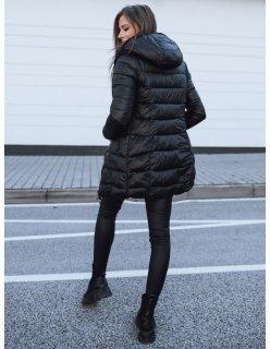 Antracitový dámsky kabát Cossy