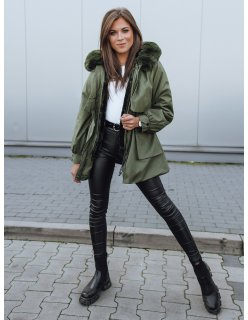 Čierny dámsky kabát Lusso