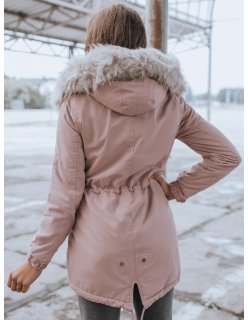 Šedý pánsky kabát s vreckami na zips