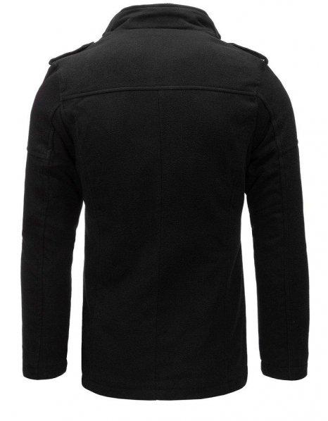 Pánsky čierny kabát